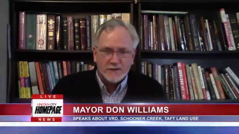 Mayor Don Williams 2/20/15