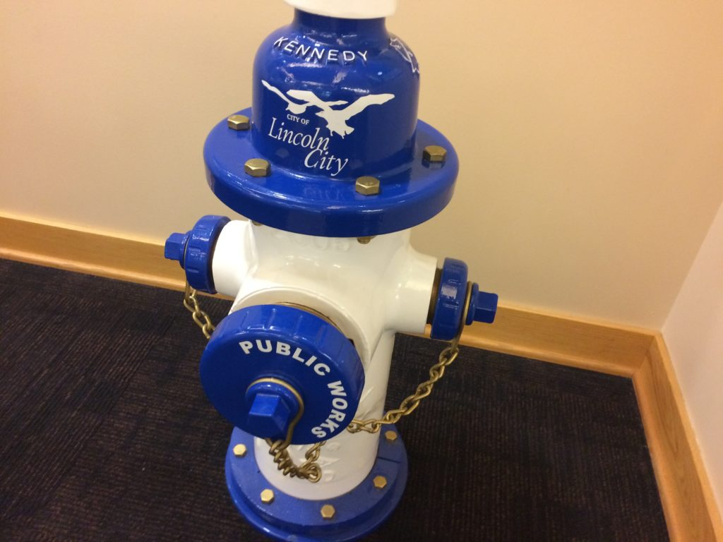 City Hall Fire Hydrant