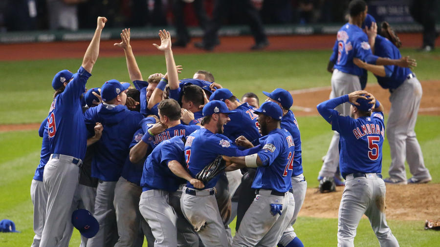 Chicago Cubs win 2016 World Series against the Cleveland Indians for the first time in 108 years.