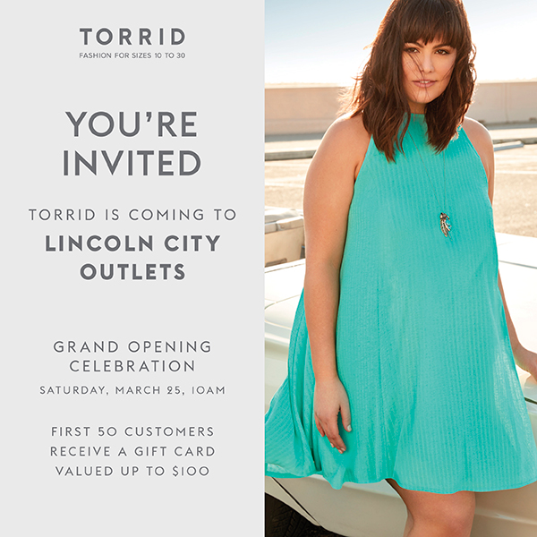 Lincoln City Outlets Torrid