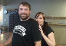 Black Squid owners Andy & Sara Hill