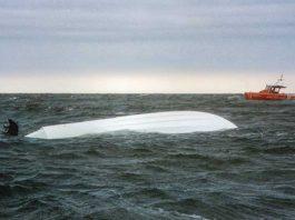 capsized depoe bay