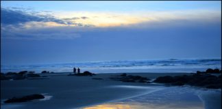lincoln city sunset