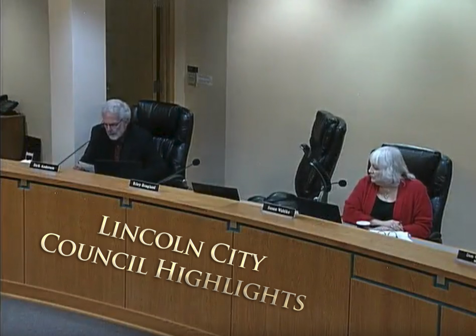 Lincoln City Council Highlights 2/26