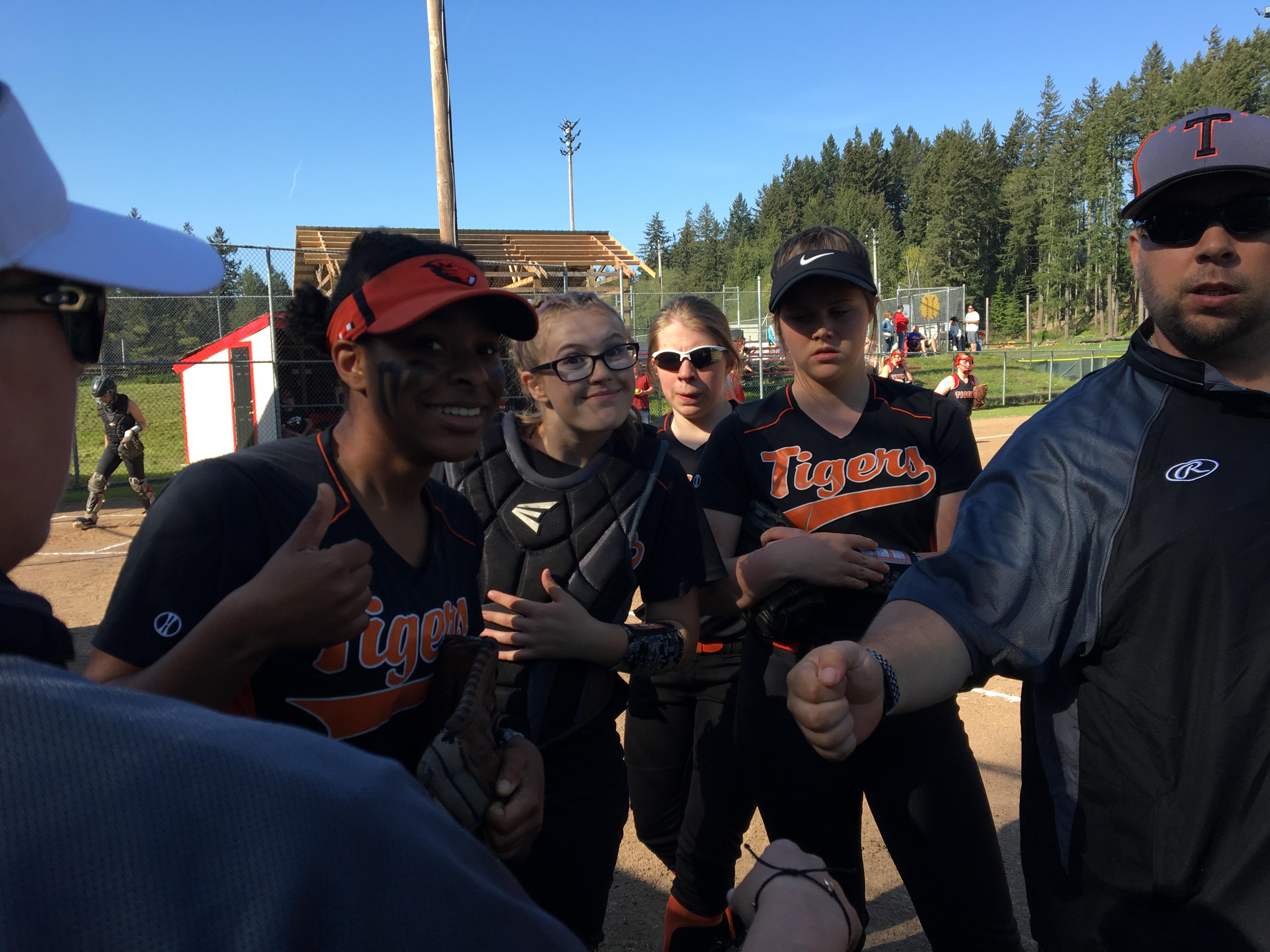 Taft Tigers softball team
