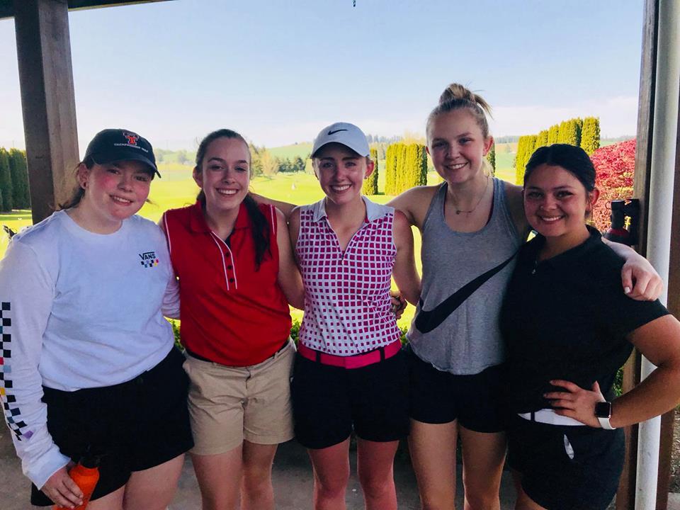 Taft Girls Golfers