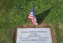 Veterans - Samuel Robert Chorneau