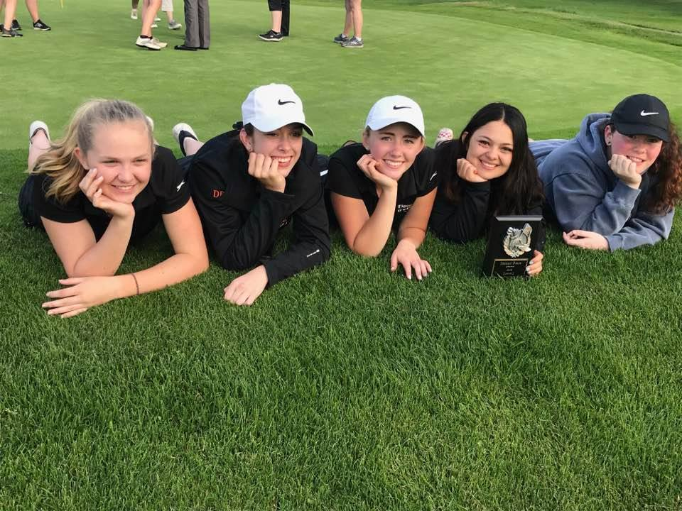 Taft Tigers Girls Golf