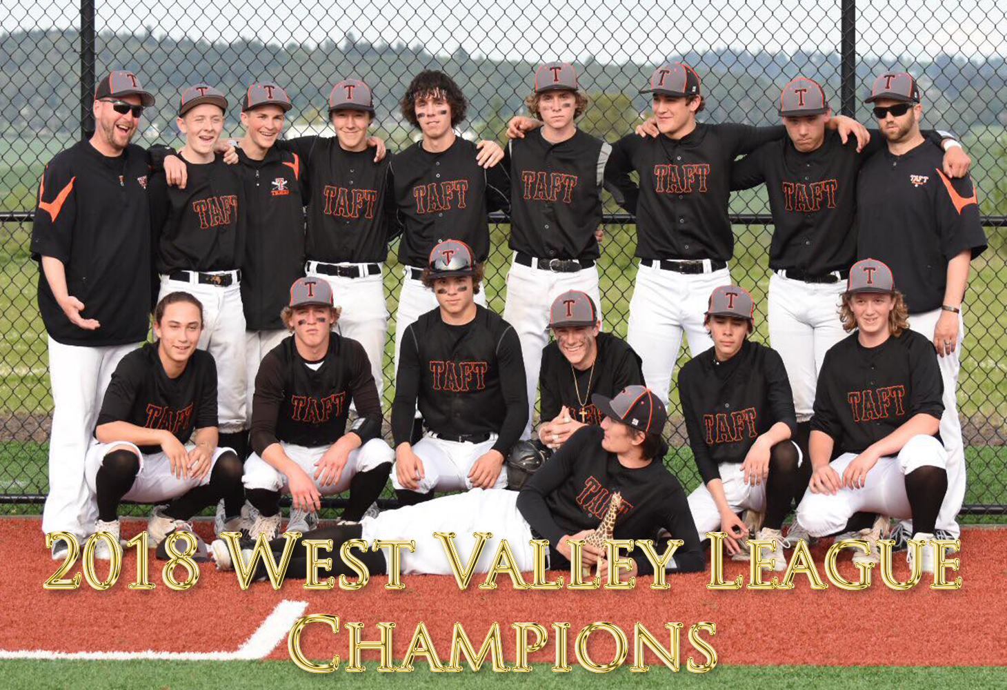 2018 West Valley League Champions