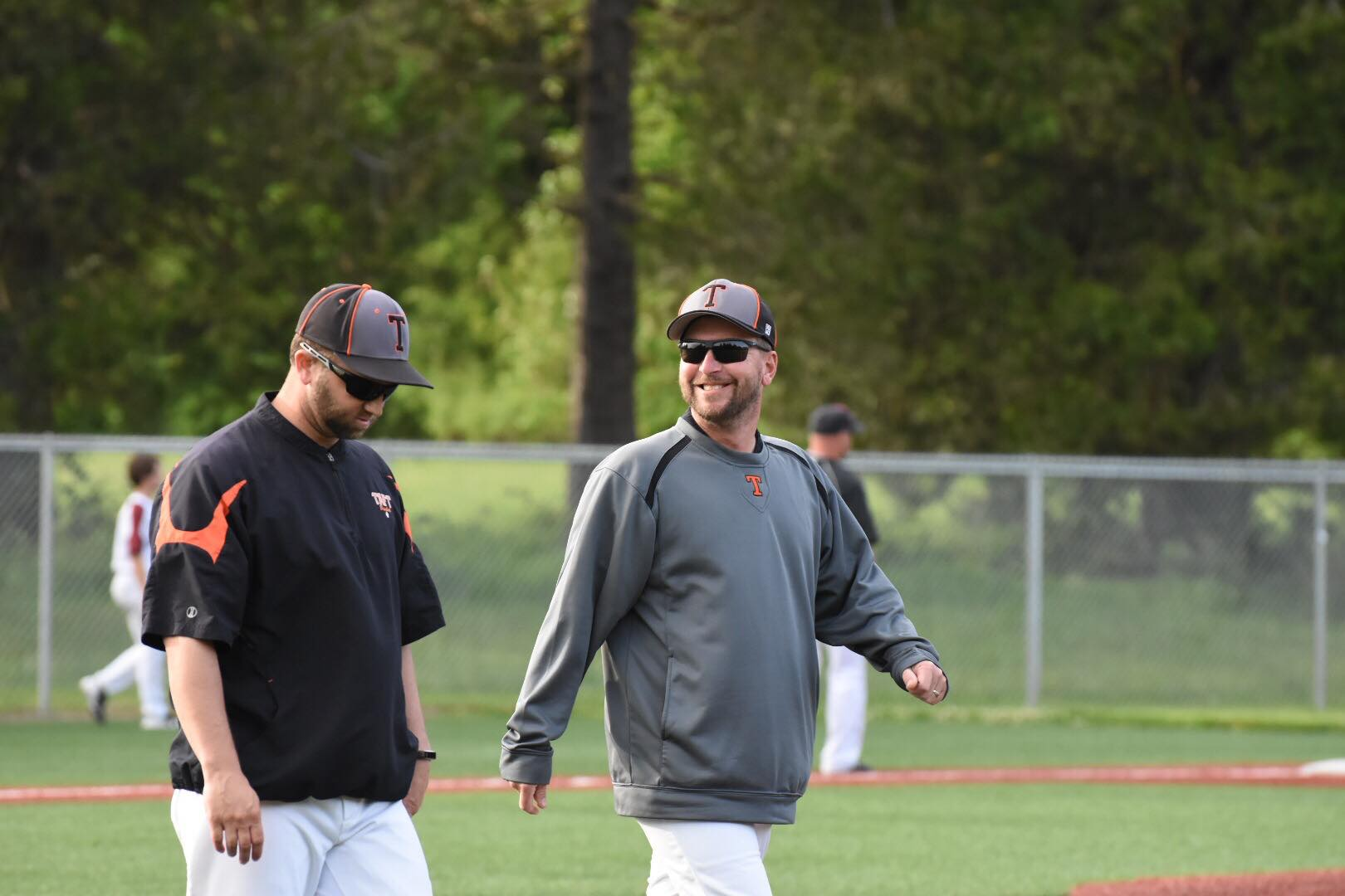 Coaches Matt Hilgers and Jason King