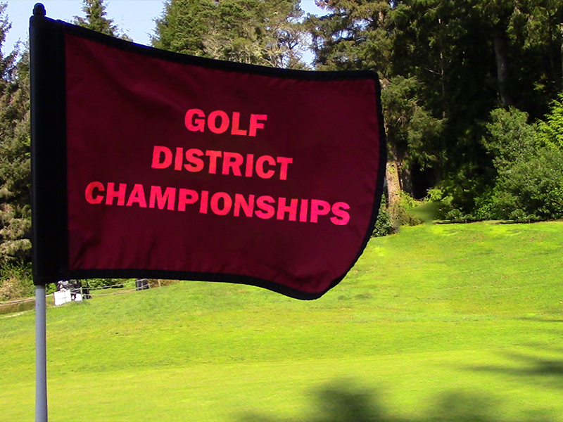 Golf District Championships