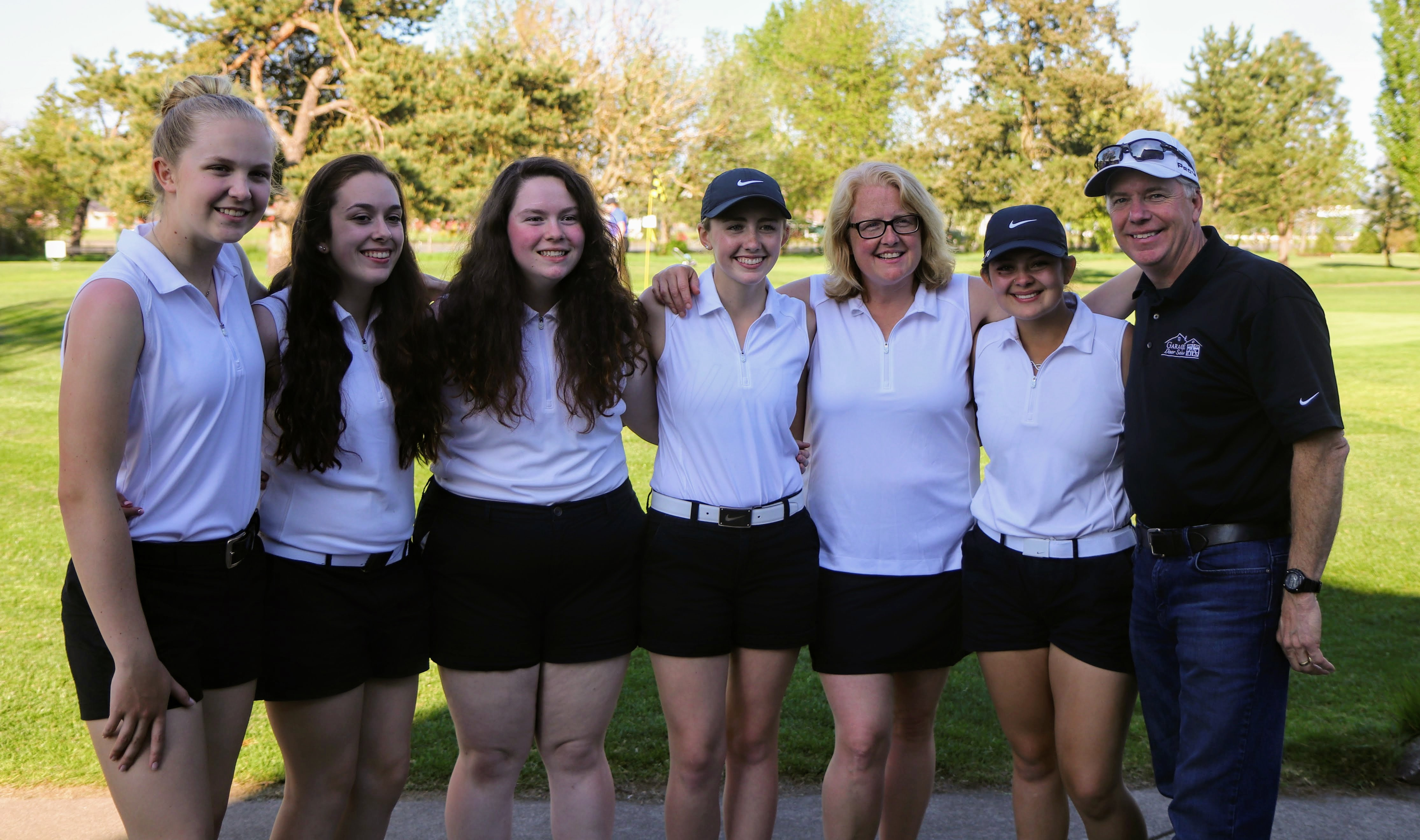 Tigers girls golf