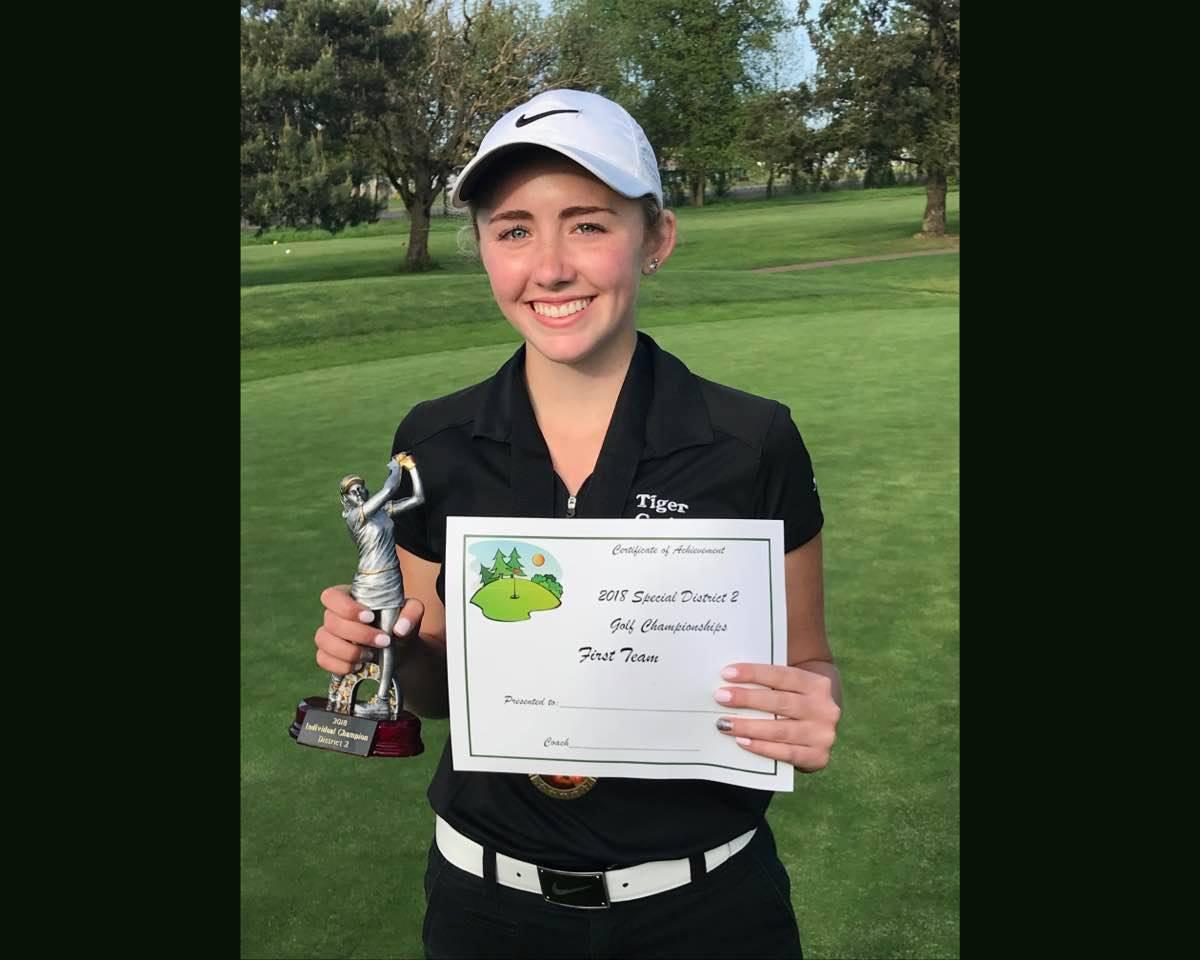 Maya Hatton Wins District