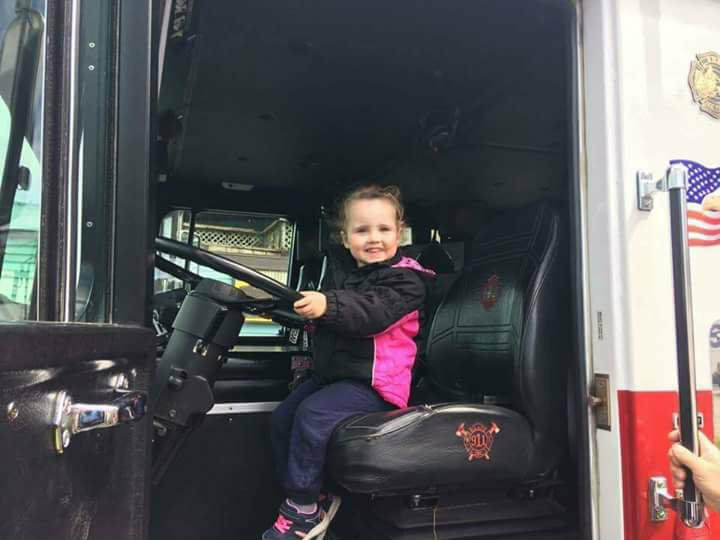 Alaina touch-a-truck