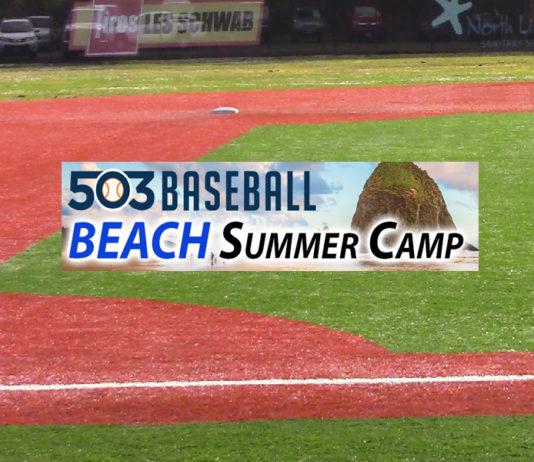 503 baseball beach summer camp