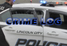 Lincoln City Police Crime Log - Aug. 24-30