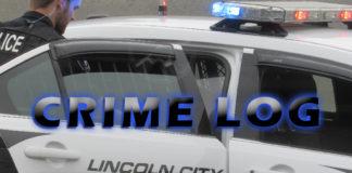 Lincoln City Police Crime Log - Aug. 24-30