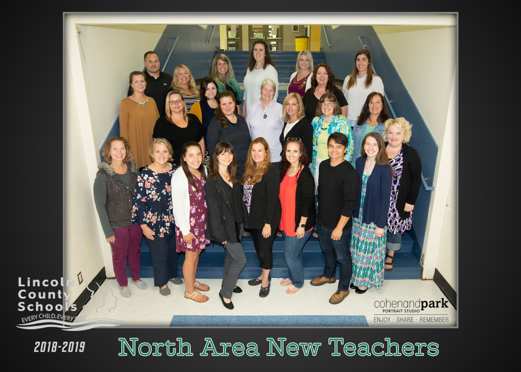 It's the first day of school for new North County LCSD teachers