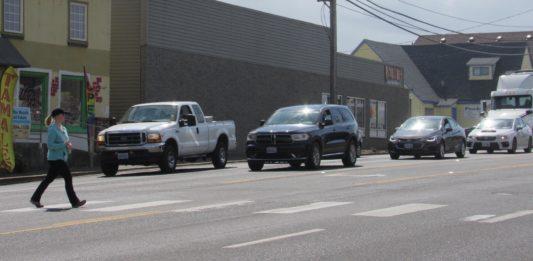 Pedestrian safety enforcement