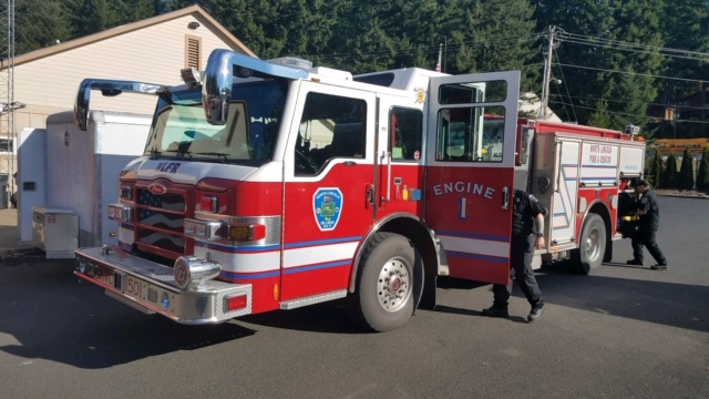North Lincoln Fire and Rescue Type 1 Engine