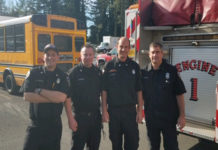 NLFR Firefighters
