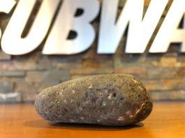 Subway rock