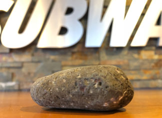 Subway rock