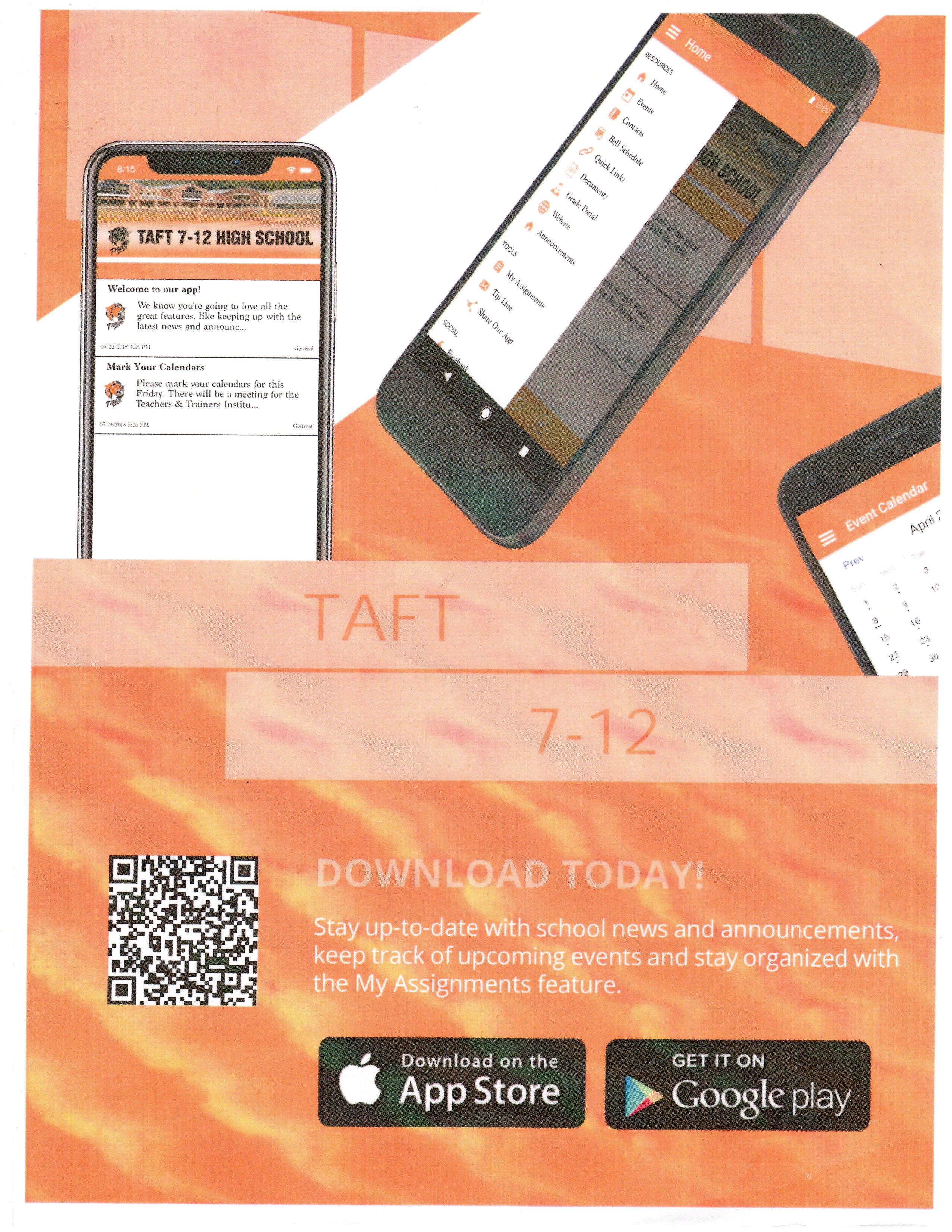 Taft 7-12 app Lincoln City