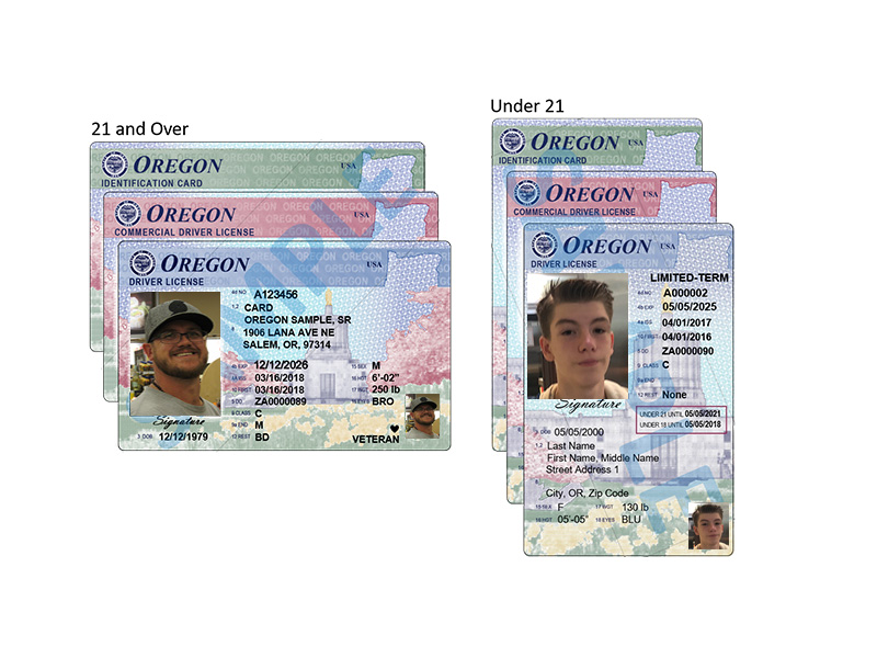 Id Card To Oregon Update License Design Driver