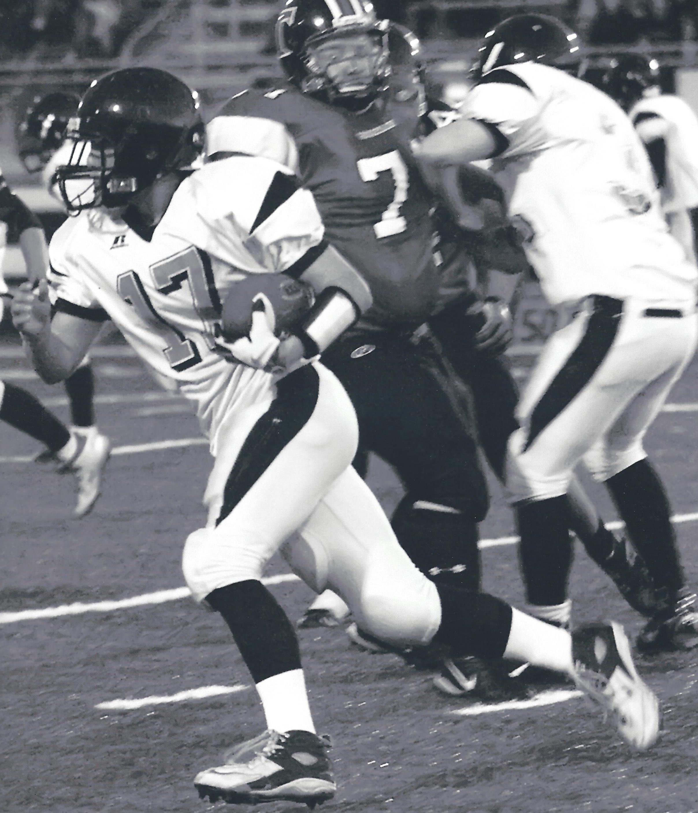 JW Senior football BW