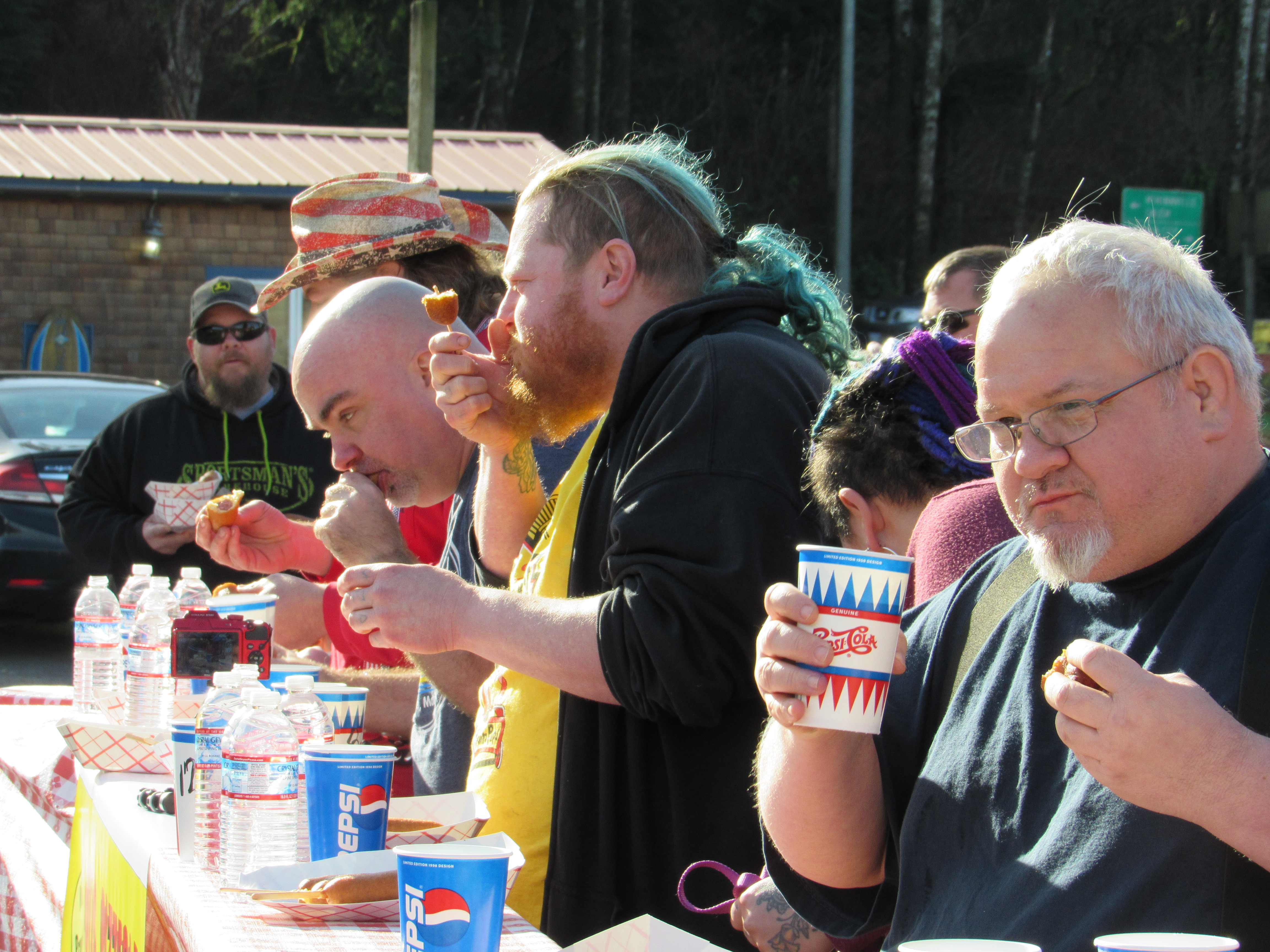Pronto Pup Eating Contest