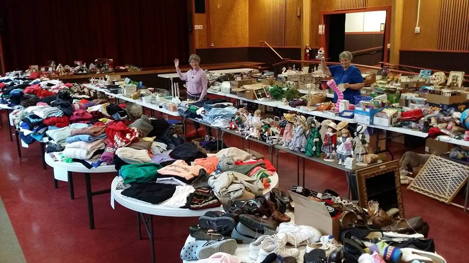 Rummage Sale at the LCCC