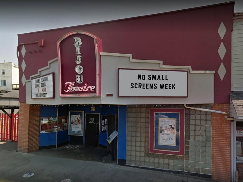Bijou No Small Screens