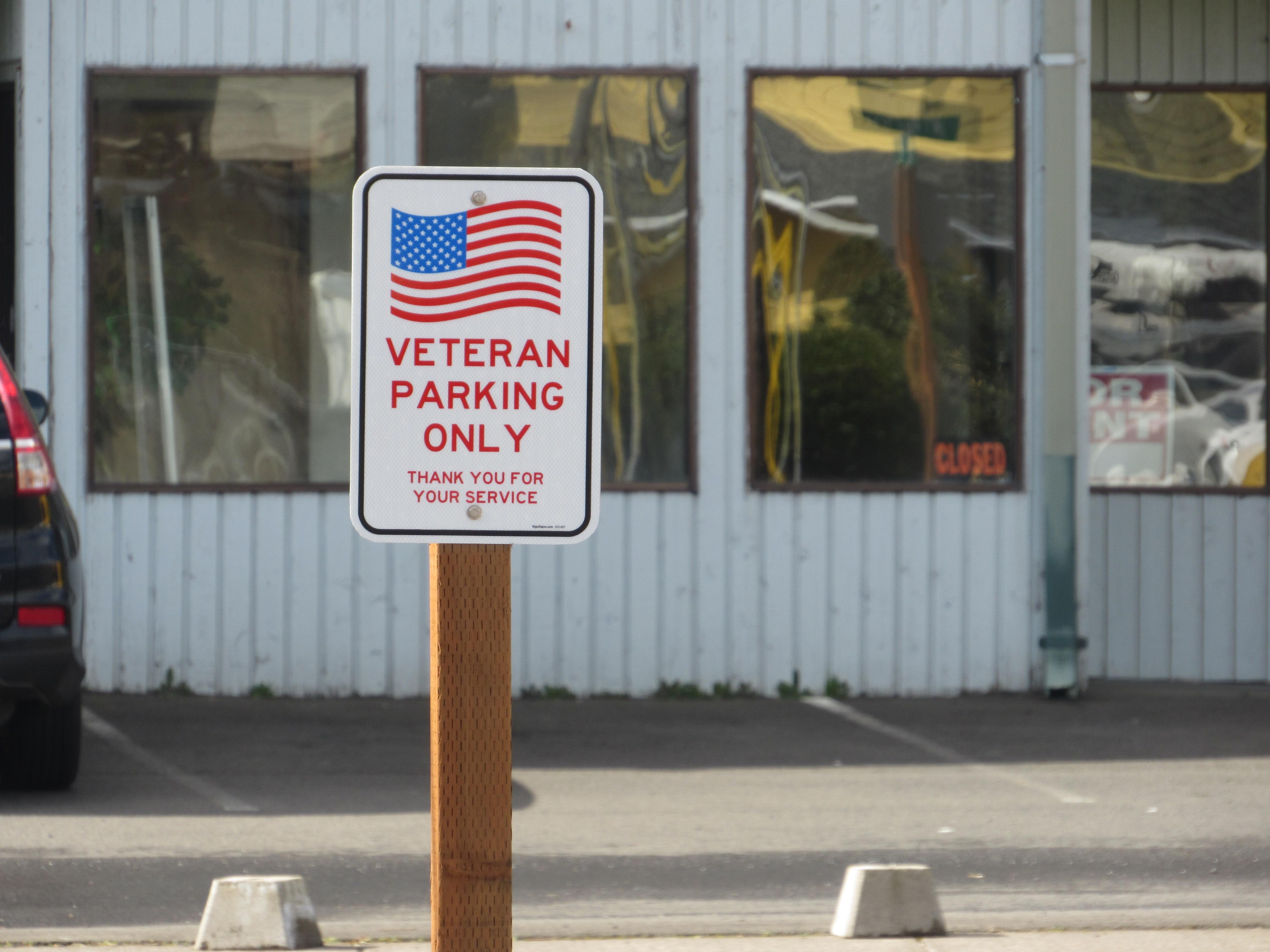 Hilltop Inn Veteran Parking