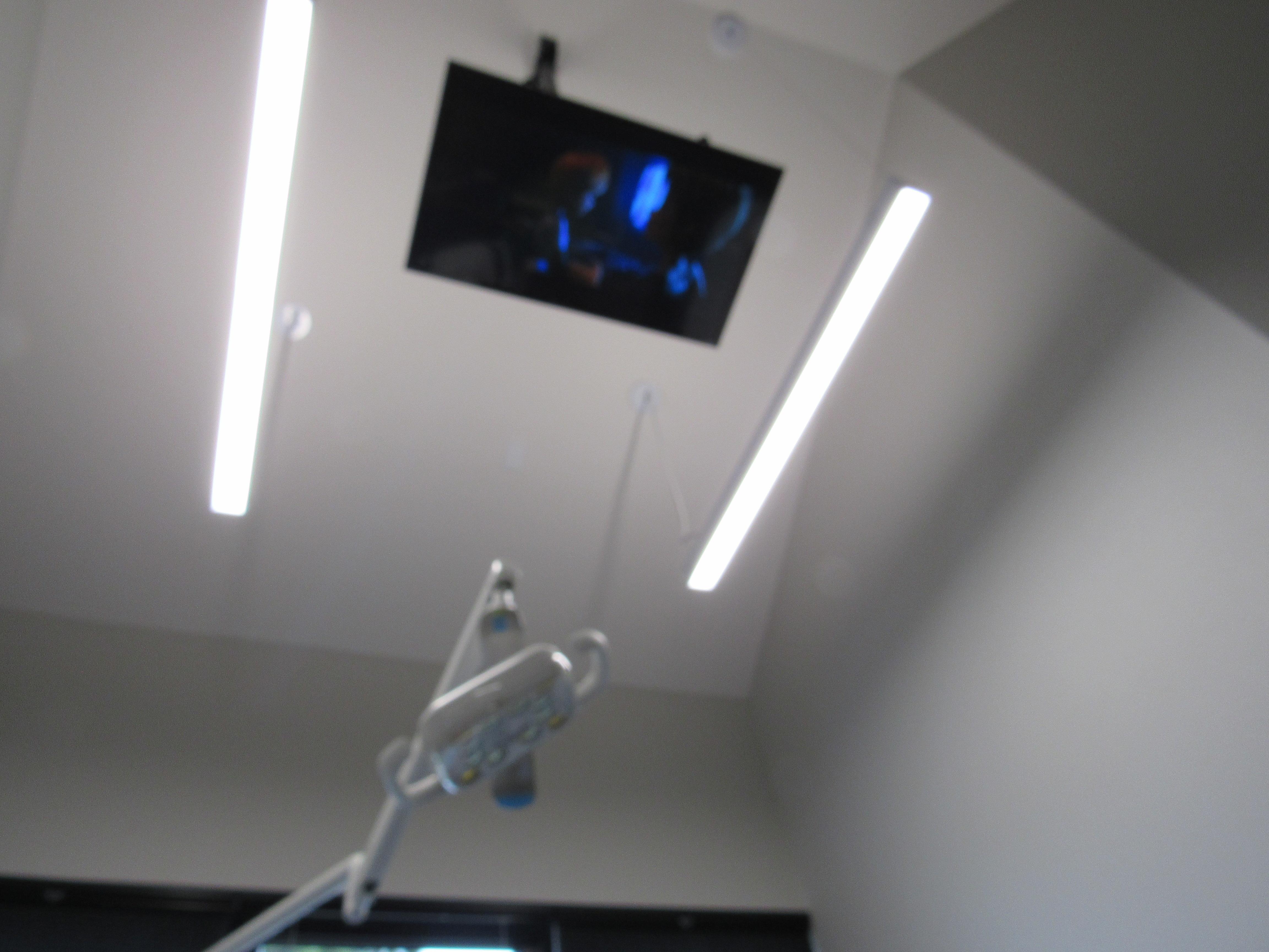 Netflix is on at Pediatric Dental Associates