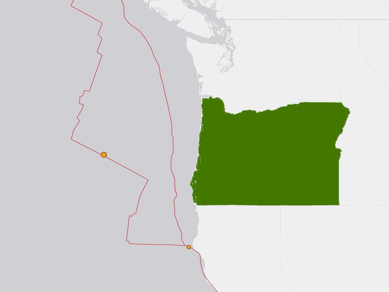 Oregon Coast Earthquake