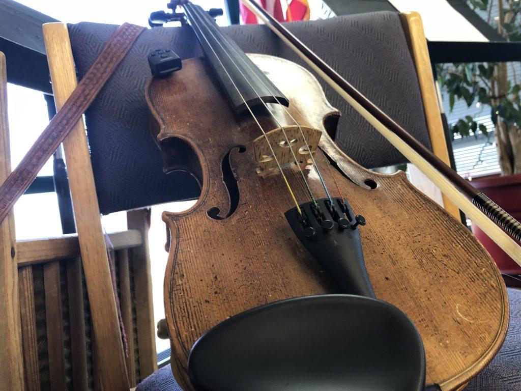 Karen Johnson's fiddle