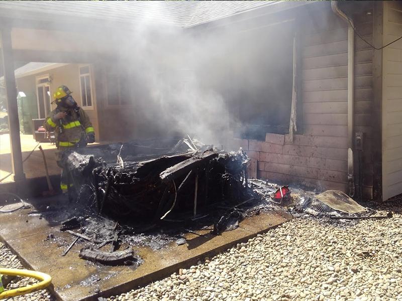 Otis House Fire