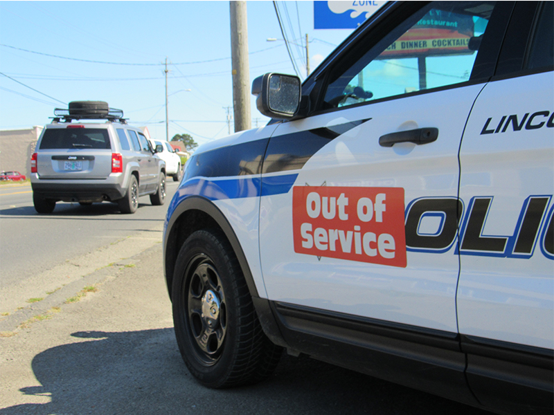 Ford Recall Lincoln City Police
