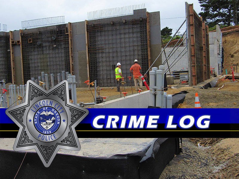 Lincoln City Crime log oregon