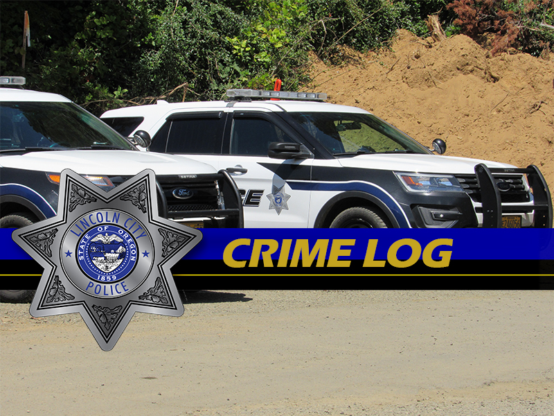 Lincoln City Police Crime Log