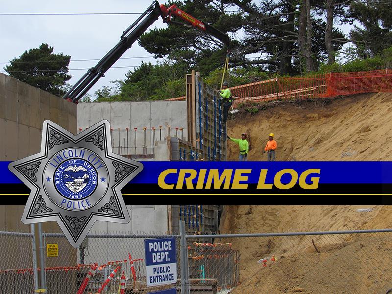 Lincoln City Police Crime Log