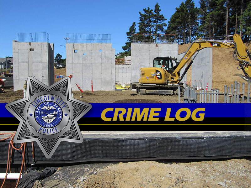Lincoln City Police Crime Log July 19-25