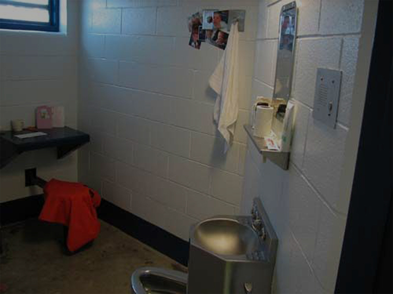 Lincoln County Jail cell