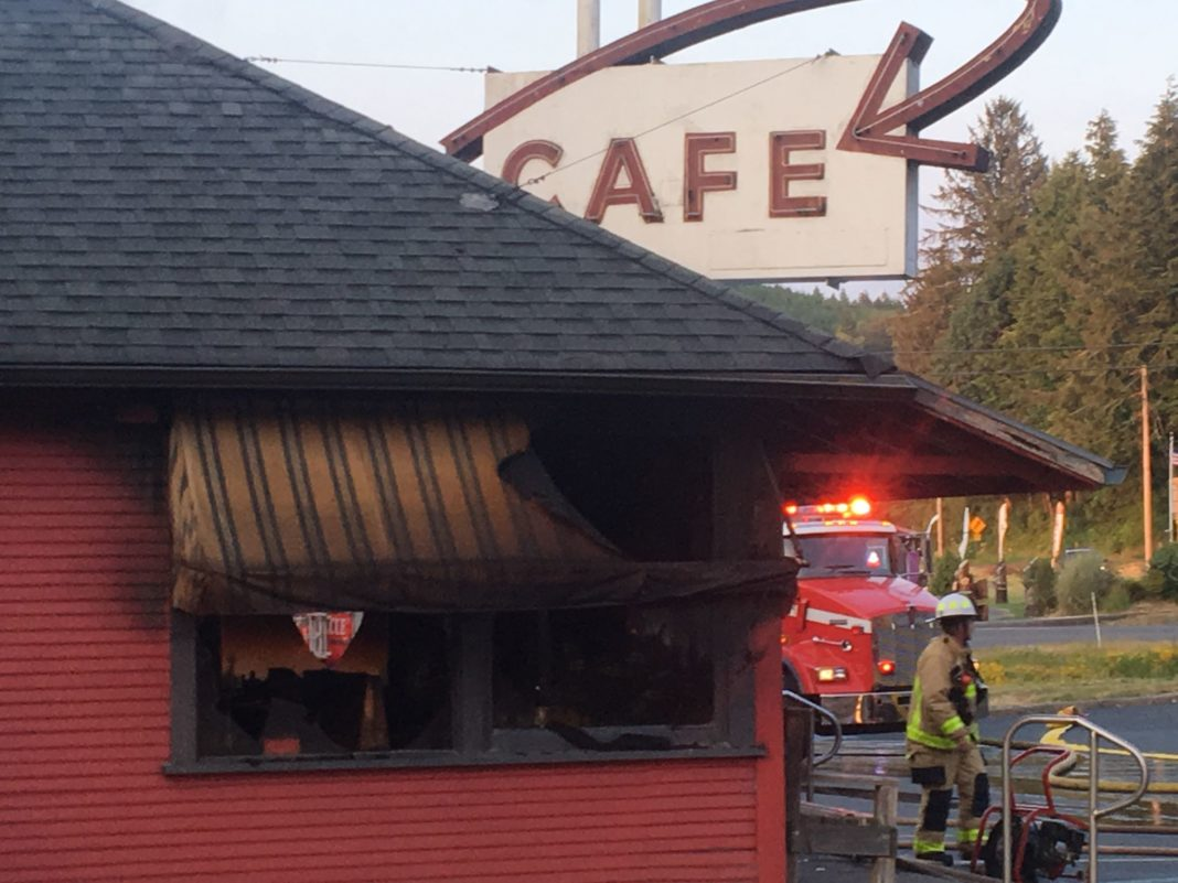 Otis Cafe Gutted