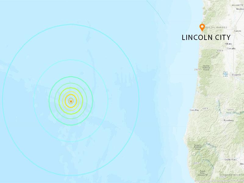Earthquake Oregon Coast