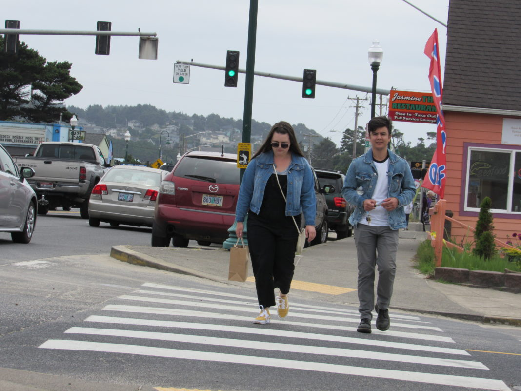 Lincoln City Pedestrian Safety