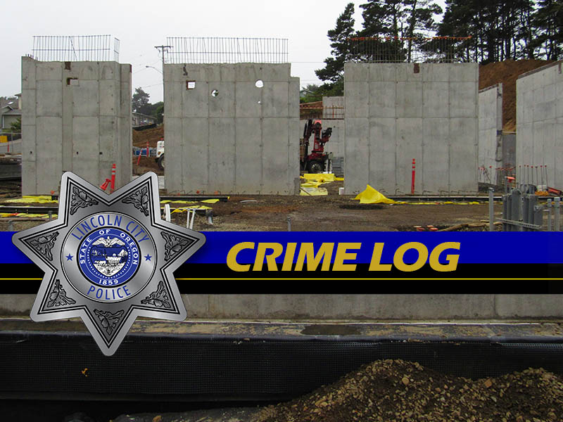 Lincoln City Police Crime Log August