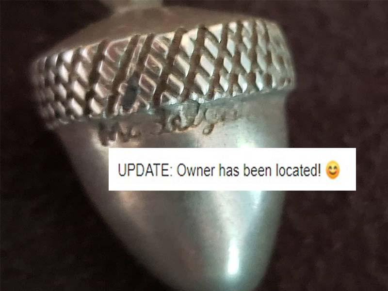 Acorn-Pendant Found