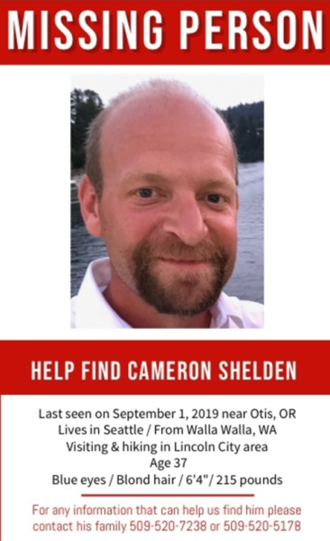 Cameron Shelden missing